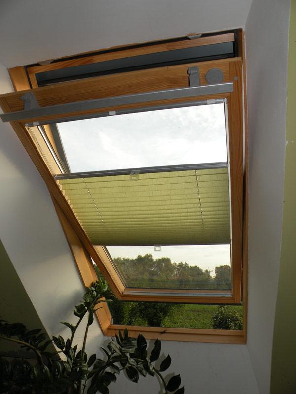 Рулонные шторы на мансардные окна своими руками 35
